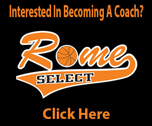 Rome Basketball, Youth Basketball, Rome NY, Syracuse Basketball, Syracuse Youth Basketball, Rome Select, Oneida Basketball